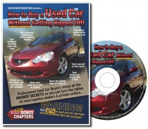 How to Buy a Used Car Without Getting Ripped Off! DVD
