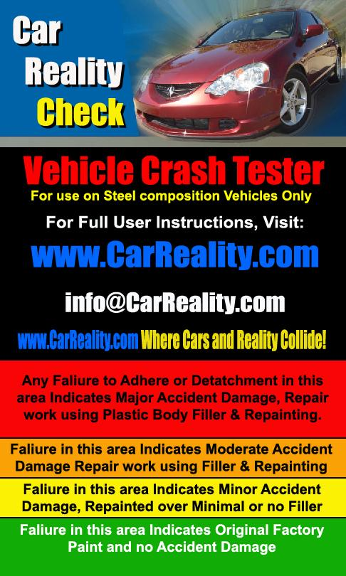 The Vehicle Crash Tester