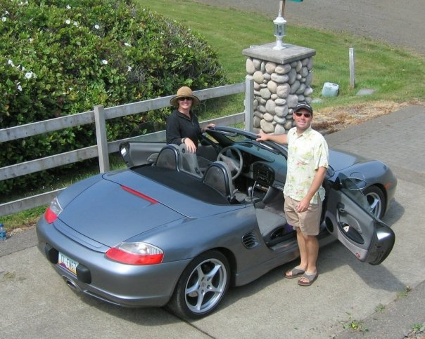 Tanja &amp; Paul get their Boxster